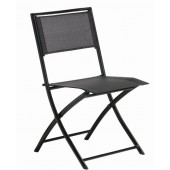 Skladacia stolička BLACK