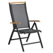 Záhradná polohovateľná stolička HAMILTON / ANDY