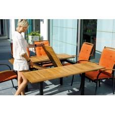 JUPITER stôl 100x150 / x150 cm  1437-105 silver