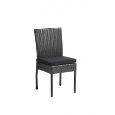 VÝPREDAJ - Záhradná stolička Isabella hnedý Wicker
