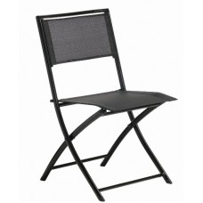 VÝPREDAJ - Skladacia stolička BLACK